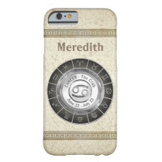 Cancer -The Crab Zodiac Symbol Barely There iPhone 6 Case