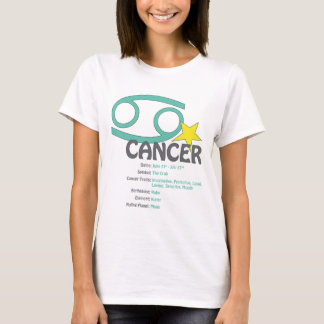 Cancer Traits Ladies T-Shirt
