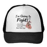 Cáncer uterino voy a luchar gorras de camionero