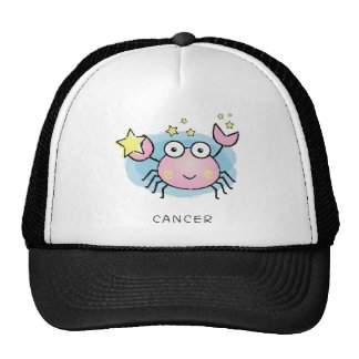 cancer  Vector of horoscope zodiac signs Mesh Hats
