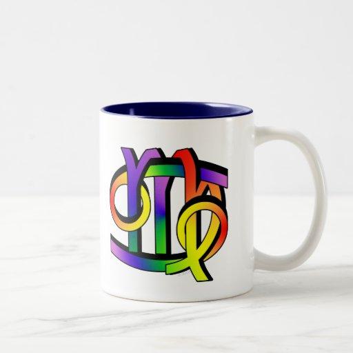 Cancer & Virgo GLBT Two-Tone Coffee Mug