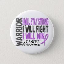 Cancer Warrior Button