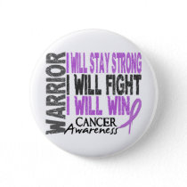 Cancer Warrior Button