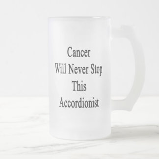 Cancer Will Never Stop This Accordionist Coffee Mug