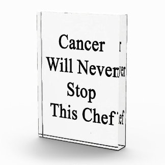 Cancer Will Never Stop This Chef Awards