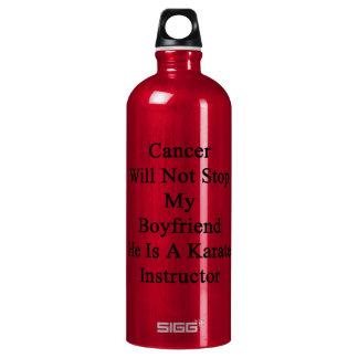 Cancer Will Not Stop My Boyfriend He Is A Karate I SIGG Traveler 1.0L Water Bottle