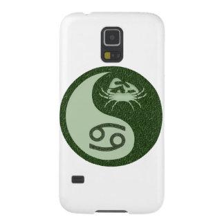 Cáncer Yin Yang Carcasas Para Galaxy S5