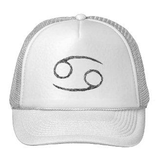 Cancer. Zodiac Astrology Sign. Hats