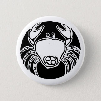 Cancer - Zodiac Badge Pinback Button