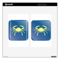 Cancer Zodiac Decal For Kindle Fire