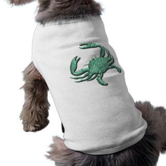 Cancer Zodiac Dog's T-Shirt Dog T-shirt