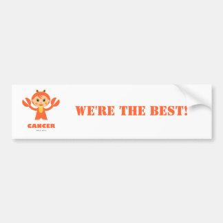 Cancer Zodiac for kids Bumper Sticker
