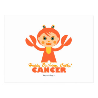 Cancer Zodiac for kids Postcard