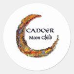 Cancer Zodiac - Moon Sticker