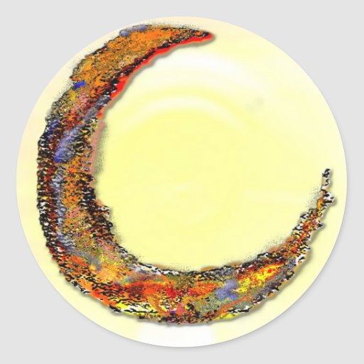 Cancer Zodiac - Moon Stickers
