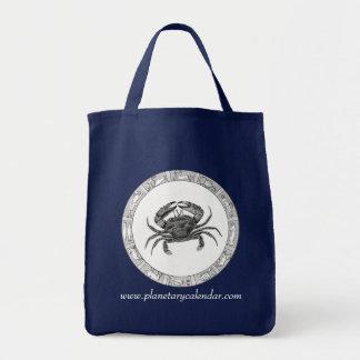 Cancer Zodiac on Dark Bag