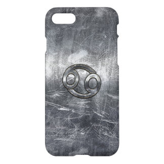 Cancer Zodiac Sign in Industrial Style iPhone 8/7 Case