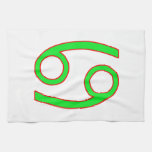 Cancer Zodiac Sign Kitchen Towels