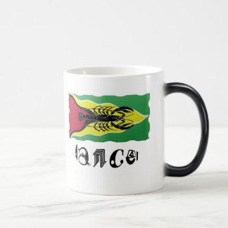 Cancer Zodiac Sign on Guyana Flag Morphing Mug
