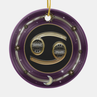 Cancer Zodiac Sign Ornament