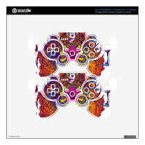 Cancer Zodiac Sign PS3 Controller Skin