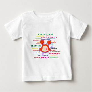 Cancer Zodiac Sign Traits Baby T-Shirt