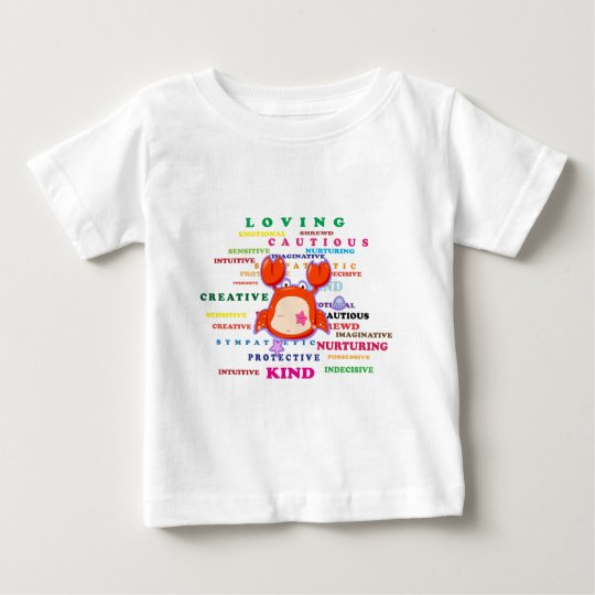 Cancer Zodiac Sign Traits Baby T-Shirt
