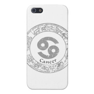 Cancer Zodiac sign vintage iPhone SE/5/5s Cover