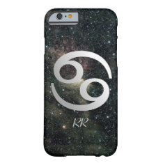 Cancer Zodiac Star Sign On Universe Barely There Iphone 6 Case at Zazzle