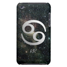 Cancer Zodiac Star Sign On Universe Barely There Ipod Cover at Zazzle