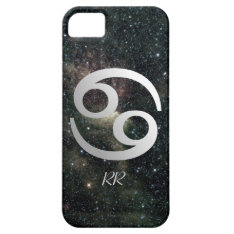 Cancer Zodiac Star Sign On Universe Iphone Se/5/5s Case at Zazzle