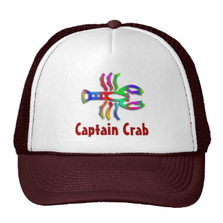 Cancer Zodiac Star Sign Rainbow Color Mesh Hats