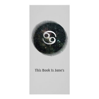 Cancer Zodiac Star Sign Universe Bookmark Rack Cards