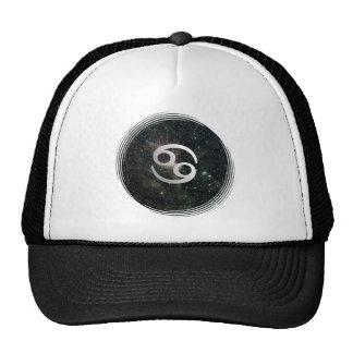 Cancer Zodiac Star Sign Universe Mesh Hat