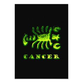 Cancer Zodiac Symbol Card