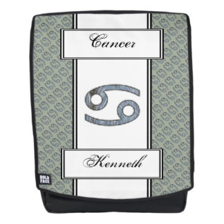 Cancer Zodiac Symbol Element by Kenneth Yoncich Backpack