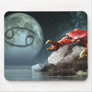 Cancer Zodiac Symbol Mouse Pads