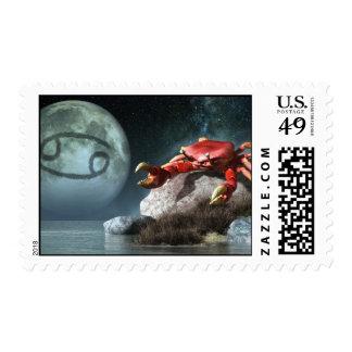 Cancer Zodiac Symbol Postage