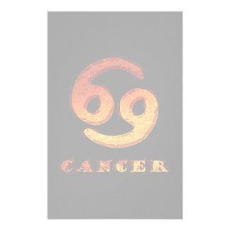 Cancer Zodiac Symbol Stationery