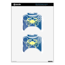 Cancer Zodiac Xbox 360 Controller Decal