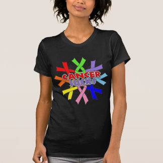 Cancers Sucks Awareness Ribbons Tshirt