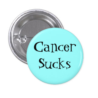 CancerSucks Pinback Button