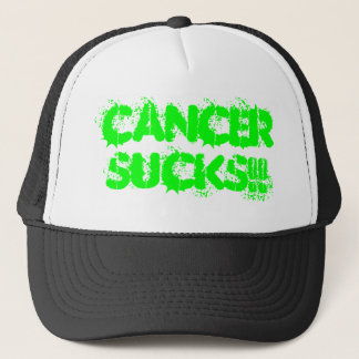 CANCERSUCKS!! TRUCKER HAT