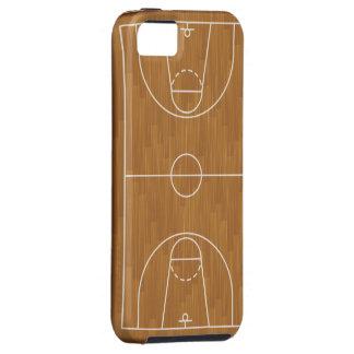 Cancha de básquet funda para iPhone 5 tough