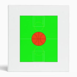 Cancha de básquet verde