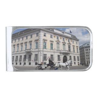 Cancillería federal austríaca en Ballhausplatz Clip Para Billetes Plateado