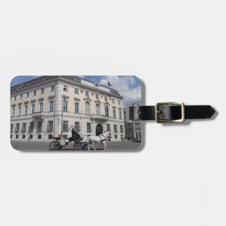 Cancillería federal austríaca en Ballhausplatz Etiquetas Maletas