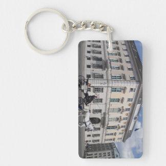 Cancillería federal austríaca en Ballhausplatz Llavero Rectangular Acrílico A Doble Cara