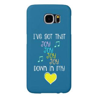 Canción: Alegría abajo en mi corazón Fundas Samsung Galaxy S6