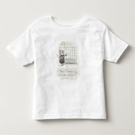 Canción bávara de los chicas por la máxima Gouci, Camisetas